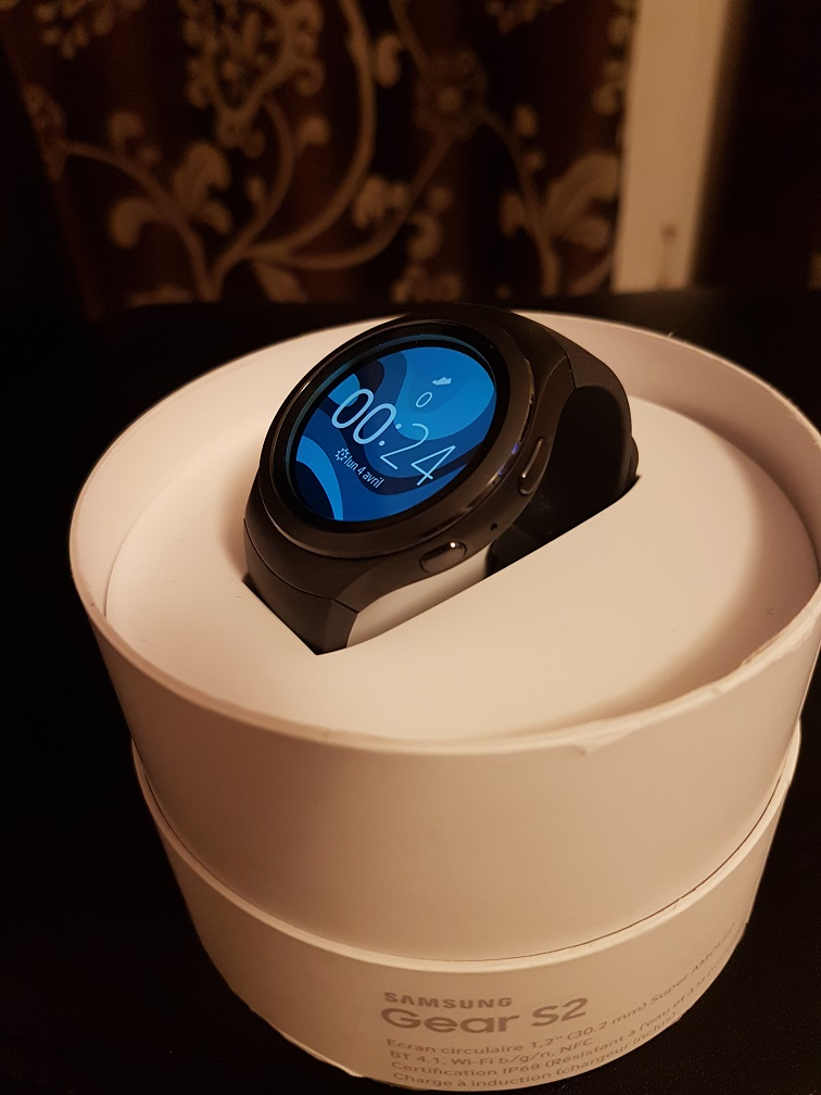 samsung montre connectée gear s